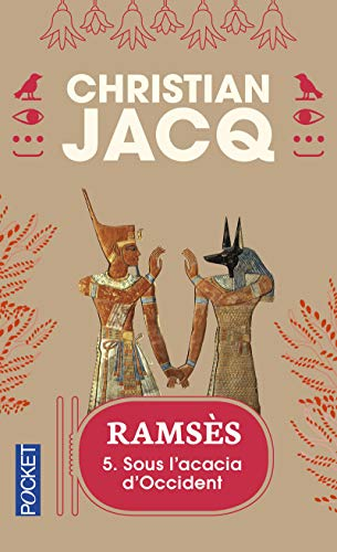9782266073394: Rams�s, tome 5 : Sous l'acacia d'Occident