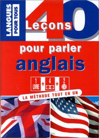 9782266076098: 40 le�ons pour parler anglais, avec 1 CD-ROM et 4 cassettes
