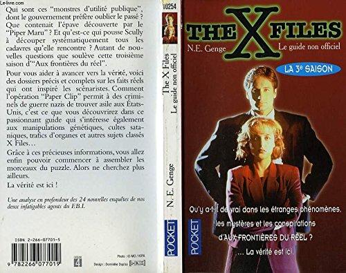 9782266077019: THE X FILES. Le guide non officiel, la 3ème saison