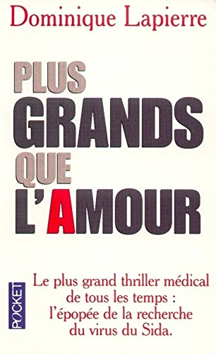9782266079389: Plus grands que l'amour