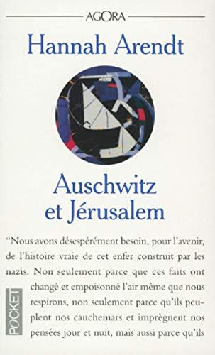 9782266083461: Auschwitz et Jérusalem