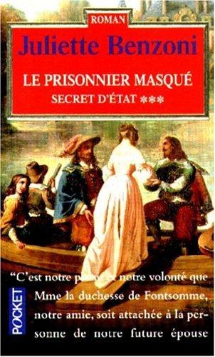 9782266083850: Le prisonnier masqué, tome 3 : Secret d'état