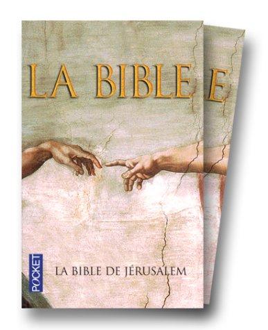 9782266087322: La Bible de Jerusalem (French Edition)