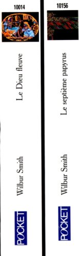 9782266087360: WILBUR SMITH COFFRET 2 VOLUMES : VOLUME 1, LE DIEU FLEUVE. VOLUME 2, LE SEPTIEME PAPYRUS