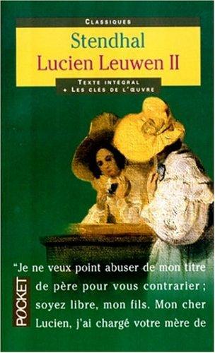 9782266092685: Lucien Leuwen, tome 2