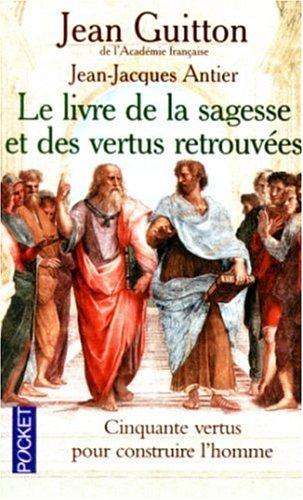 9782266093521: Le livre de la sagesse et des vertus retrouvées (Pocket)
