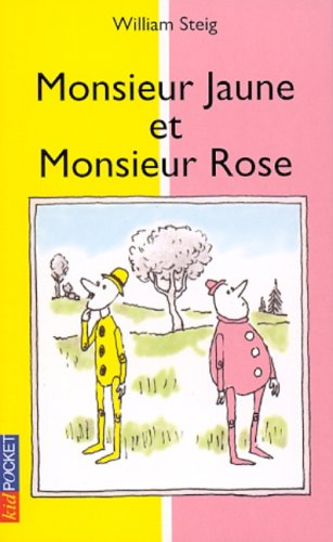 9782266095303: Monsieur jaune et monsieur Rose