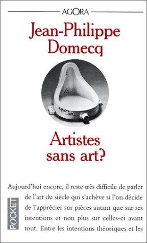 9782266096621: Artistes sans art ?
