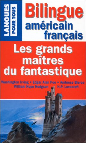 9782266098151: Les Grands Maîtres du fantastique. Bilingue