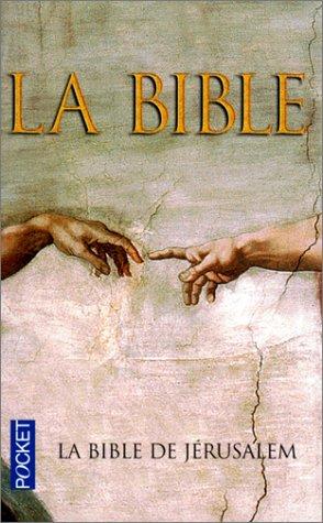 9782266105859: La Bible de Jerusalem (French Edition)
