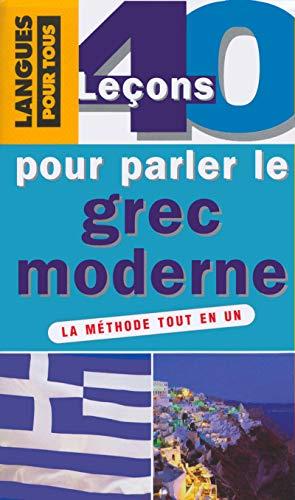 9782266123402: Coffret 40 lecons pour parler le grec moderne 7)