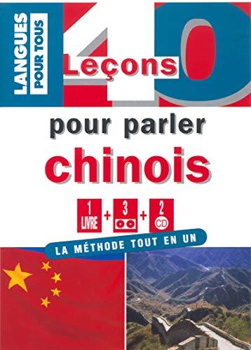 9782266132664: 40 leçons pour parler chinois (1 livre + 3 cassettes + 2 CD)