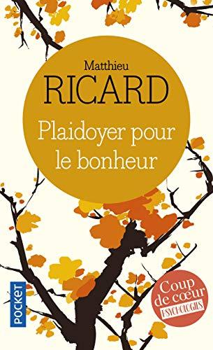 9782266144605: Plaidoyer pour le bonheur (Pocket)