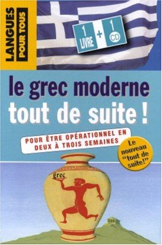 9782266148191: Le Grec moderne tout de suite ! (1CD audio)