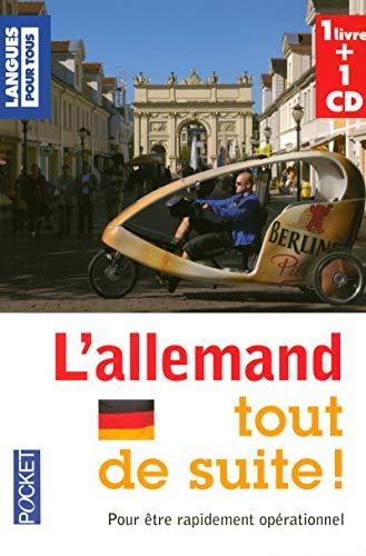 9782266168267: Coffret L'allemand tout de suite (Livre + 1 CD)