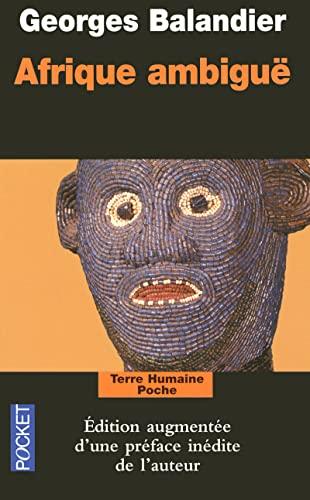 9782266181471: Afrique Ambigue (Pocket Terre Humaine)