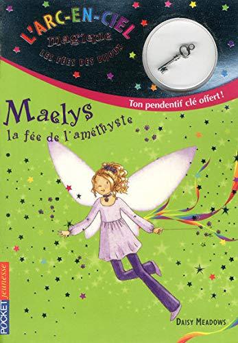 9782266187343: 5. Les f�es des bijoux : Maelys, la f�e de l'am�thyste