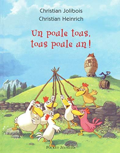 9782266189712: Un poule tous, tous poule un ! (Pocket Jeunesse)