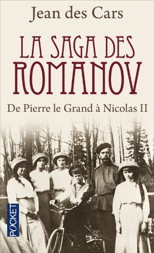 9782266191654: La saga des Romanov : De Pierre le Grand à Nicolas {II}