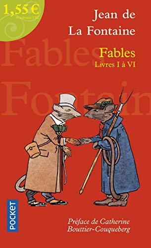 Fables livres I-VI: De La Fontaine, Jean