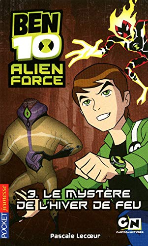 9782266198950: Ben 10 Alien Force, Tome 3 : Le myst�re de l'hiver de feu