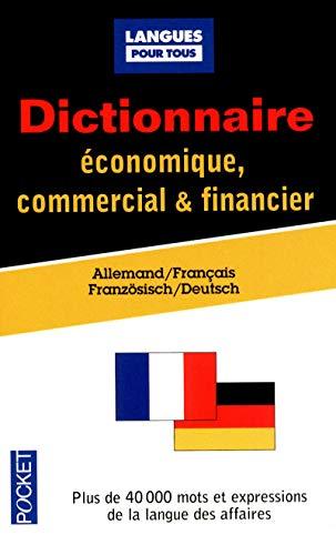 Dictionnaire économique, commercial & financier: Allemand-Français (9782266203593) by Jurgen BOELCKE