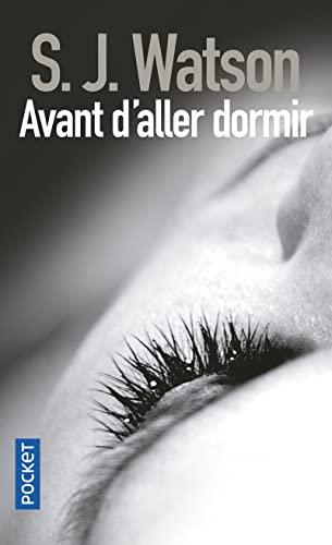 9782266216722: Avant d'aller dormir (Pocket thriller)