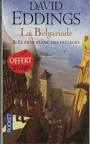9782266239264: LA BELGARIADE.LE PION,BLANC DES PRESAGES