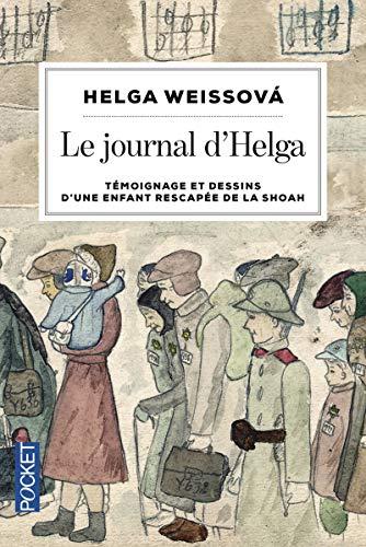 9782266249980: Le journal d'Helga : Témoignage et dessins d'une enfant rescapée de la Shoah (Pocket)