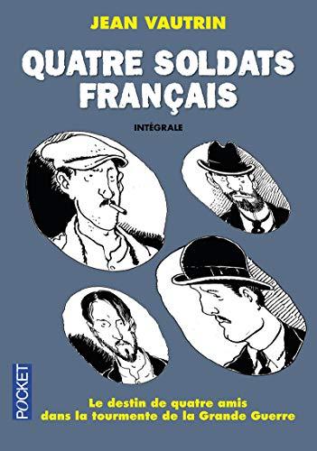 9782266254403: Quatre soldats français - Intégrale