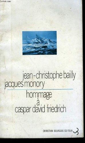 9782267000849: Hommage à Caspar David Friedrich