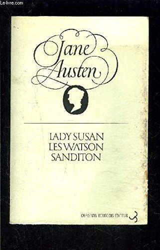 9782267002249: Lady Susan, Les Watson, Sanditon
