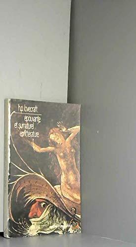 9782267004083: Epouvante et surnaturel en littérature