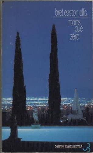 9782267004557: Moins que zéro (Bourgois)