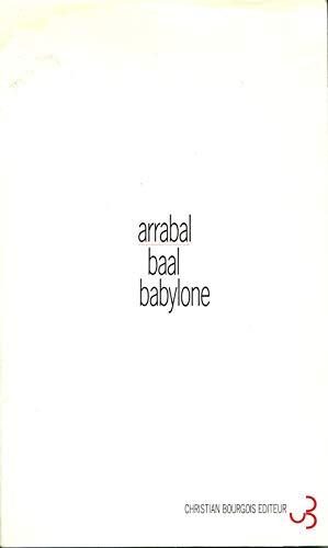 9782267012934: Baal Babylone : (Viva la Muerte)