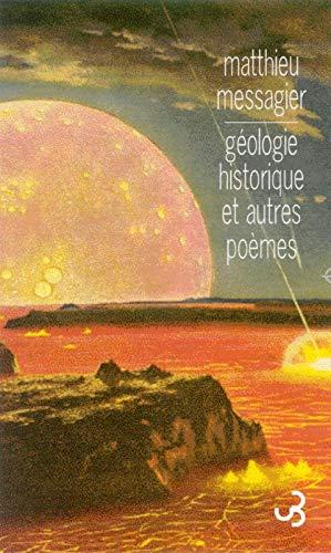 9782267016321: G�ologie historique et autres po�mes