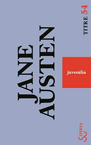 9782267019254: Juvenilia : Et autres textes
