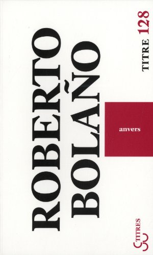 9782267021684: Anvers (French Edition)