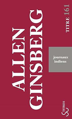 JOURNAUX INDIENS: GINSBERG ALLEN