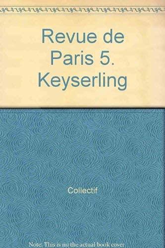 Revue de Paris No. 5: Horia, V. et al.