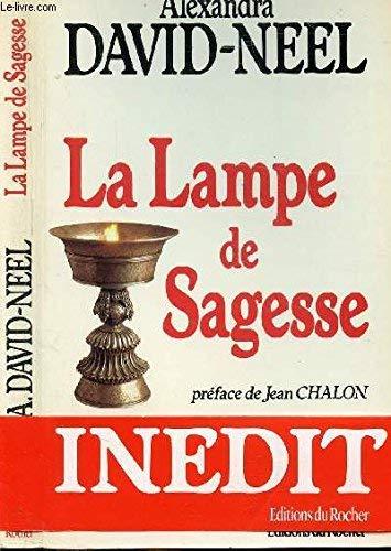 9782268004396: La lampe de sagesse (French Edition)
