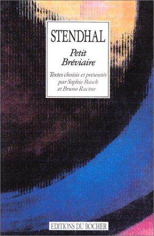 Petit brà viaire [Oct 09, 1992] Stendhal;: Stendhal