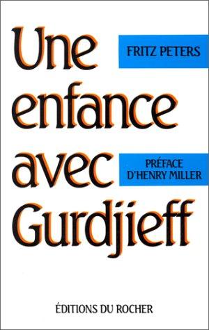 9782268022758: Une enfance avec Gurdjieff