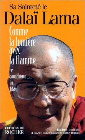 9782268025650: Comme la lumiere avec la flamme (French Edition)
