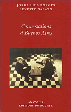 9782268040806: Conversations à Buenos Aires