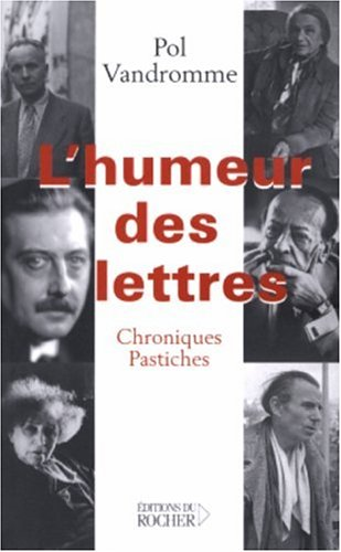 L'Humeur des lettres (French Edition) (2268050726) by [???]