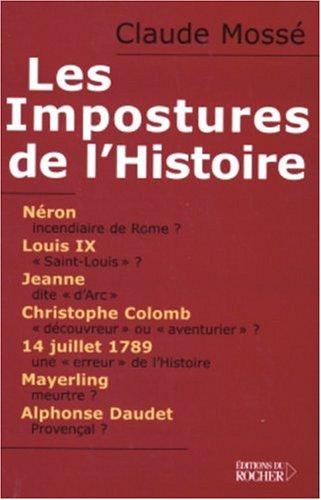 Les Impostures de l'Histoire (French Edition): Nicole Pallanchard