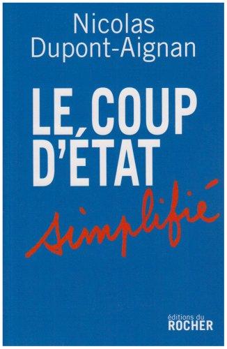 9782268065434: Le coup d'Etat simplifié