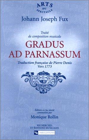 GRADUS AD PARNASSUM: FUX JOHANN JOSEPH
