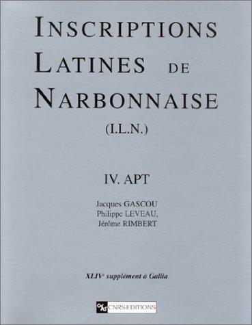 9782271055118: Inscriptions latines de Narbonnaise